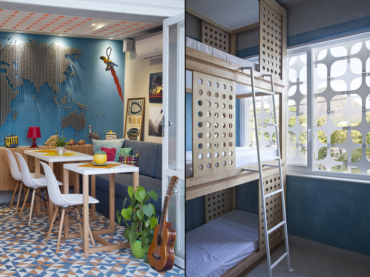 Novo hostel traduz o carioca lifestyle blog da fal for Decor do hostel